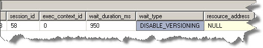 1_DISABLE_VERSIONING_wait_type_in_SQL_Server