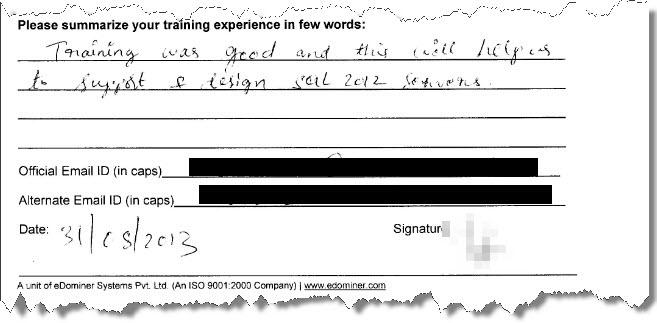 7_SQL_Server_Training_SQL_Server_High_Availability_Bangalore_August_2013