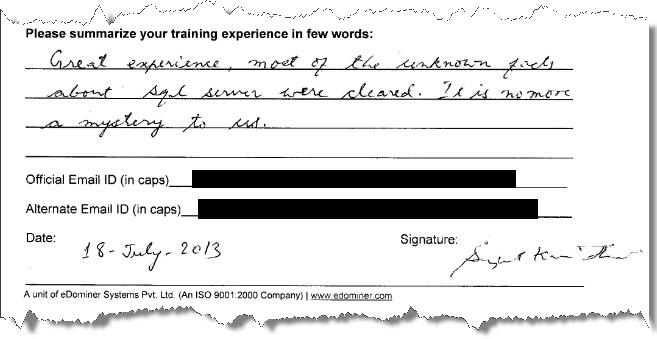17_SQL_Server_Training_SQL_Server_2012_Gurgaon_July_2013