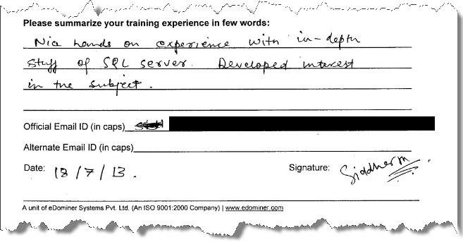 2_SQL_Server_Training_SQL_Server_2012_Gurgaon_July_2013