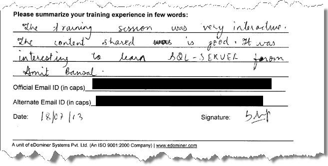 4_SQL_Server_Training_SQL_Server_2012_Gurgaon_July_2013