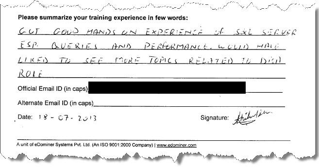 6_SQL_Server_Training_SQL_Server_2012_Gurgaon_July_2013