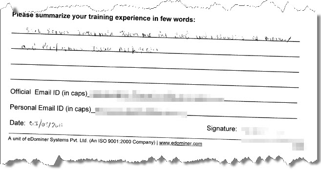 2_SQL_Server_Training_SQL_Advance_Chennai_August_2011
